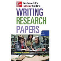 Livro Em Inglês - Writing Research Papers