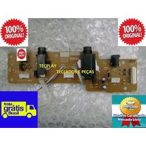Placa Jacks Usb Teclado Yamaha Psr E423 Original Frete Free