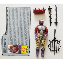 Gi Joe Cobra Night-creeper Gi Joe 1990 100% Completo + Fc