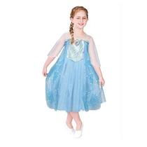 Disney Frozen Fantasia Da Princesa Elsa Tamanho G 9 A 10 Ano