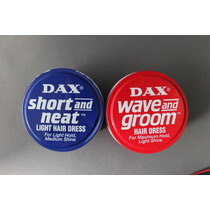 Cera Dax Kit 1 Lata Wave + 1 Lata Short And Net