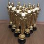 Estatueta Oscar Kit Com 10 Unidades