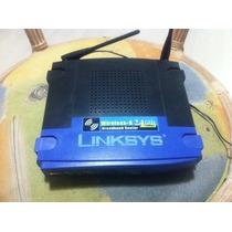 Roteador Wireless Linksys - Modelo Wrt54g