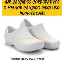 Sapato Med Works Crocks [ Hospital   Gastronomia   Limpeza ]