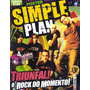 Revista Pôster Simple Plan = Poster Gigante 52cm X 81cm! Wow