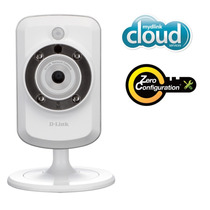 Camera Dcs-942l D-link Wireless- 4 X Zoom-noturna-grava