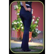 Calça Feminina Montaria Tipo Flare C/ Bolso.