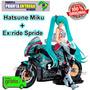 Racing Vocaloid Hatsune Miku Figma 233 + Ex:ride Spride Tt13