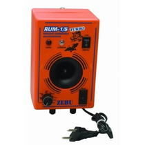 Kit Aparelho Espanta Rato E Morcego Turbo 750m² +4 Emissores