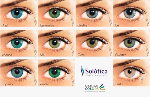 65d878c012dd1 Lente De Contato Colorida Natural Colors - Anual - Solótica