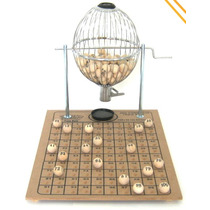 Víspora Nº 2 (100 Bolas) Bingo Profissional Completo Médio
