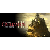 Sid Meiers Civilization 3 Complete Original Pc