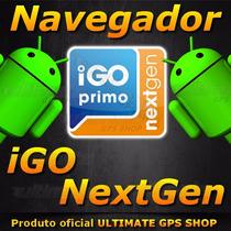 Navegador Igo Nextgen Samsung Galaxy S6 Moto Maxx Android