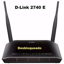 Modem Roteador D-link 2730r Wifi Adsl2 Desbloqueado
