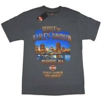 Camiseta Harley Davidson - Produto Original -