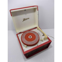 Fonógrafo Vitrola Zenith Mod. Hp-6v Toca-discos 16 33 45 78