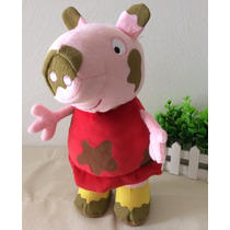 Peppa Pig Na Lama - Pronta Entrega - Envio Imediato 34 Cm