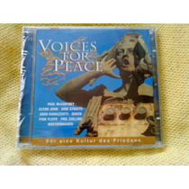 Cd Duplo Voices For Peace - 1ª Edição 1999 Raro Lacrado