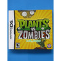 Plants Vs Zombies - Nintendo Ds - Lacrado - Pronta Entrega.