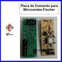 Placa De Comando 127v Para Microondas Fischer Inox Embutir
