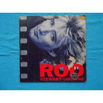 Lp Rod Stewart P/1984- Camoflage