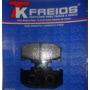 Pastilha De Freio Traseira Kawasaki Kdx-200 Ano 1989 A 1999