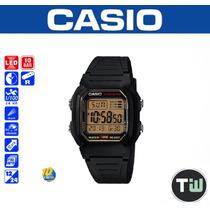 Relógio Casio W-800h Wr-100 M Hora Dual Alarme W800 Gold