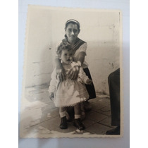 Foto Antiga ( Meninas Estilosas) 6 X 8,5 Cm