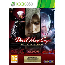 Jogo Xbox 360 - Game Original - Devil May Cry Hd Collection