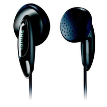 Fone De Ouvido Preto Philips She1360 Iphone 4 5 Ipod Mp3 Mp4