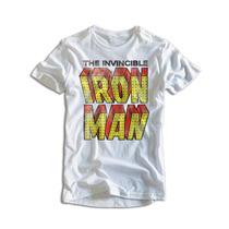 Homem De Ferro Iron Man Camiseta Masculina Personalizada