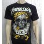 Camiseta De Banda - Metallica