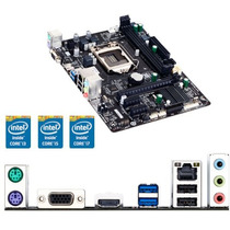 Pcware Ipxh81g1 Placa Mae 1150 I3/i5/i7 Ddr3 1600mhz C/ Nf