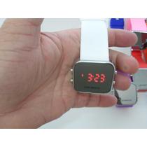 Relógio Digital Led Esportivo Unissex - Varias Opções De Cor
