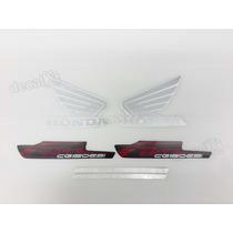 Kit Adesivos Honda Cg Fan 125 Esi 2013 Preta - Decalx