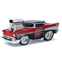 Chevrolet Bel Air 1957 Muscle Machines Maisto 1:24 32233-red