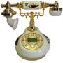 Telefone De Mesa Vm/bc Modelo Antigo Decoração Presente