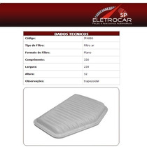 Filtro De Ar Chevrolet Omega 3.6 V6 05 A 09 (australiano)