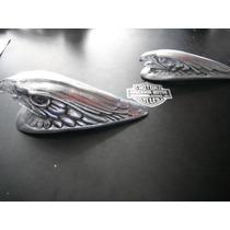 Águia P/ Paralama De Moto Em Aluminio Polido !!! Promoção !!