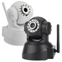 Câmera Ip Wireless Internet Sem Fio Áudio Vídeo Acesso Remot