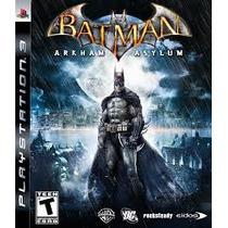 Batman Arkham Asylum Ps3 Envio Imediato