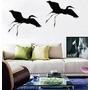 Aplique Decorativo De Parede De Pássaros Em Mdf 3mm