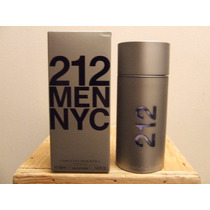 212 By Carolina Herrera For Men. Spray 100 Ml.