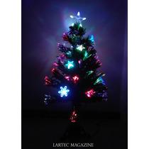 Árvore De Fibra Ótica Com Estrelas De Led 120cm-bivolt