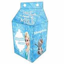 60 Caixinha Surpresa Caixa Leite Milk Personalizadas Gratis