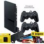 Playstation 2   Destravado   2 Controles   5 Jogos  1 Mcard