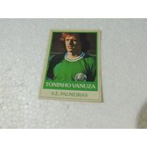 Card Original Toninho Vanuza 22 Palmeiras Futebol Ping Pong