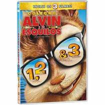 Alvin E Os Esquilos Box Dvd ***os Três Filmes***c/frete Grat