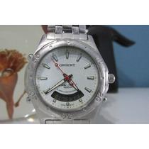Relógio Orient Anadigi 100m Mbssa002, Revisado E Lindo !!!