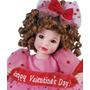 Boneca Porcelana Namorados Articulada Grife Marie Osmond